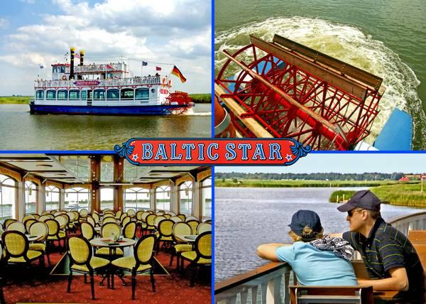 Ausflugsschiff Baltic Star Reederei Poschke Darss Prerow