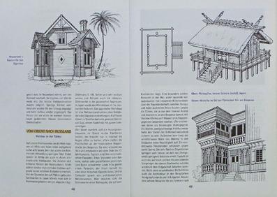"""Blick ins Buch """"Ein Haus aus Holz"""" - Kapitel: Holzhäuser in aller Welt"""