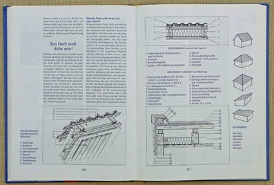 """Blick ins Buch """"Ein Haus aus Holz"""" - Kapitel """"Das Dach muss dicht sein"""""""