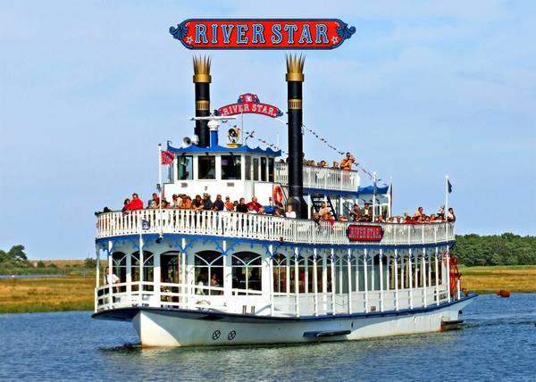 Fahrgastschiff River Star Reederei Poschke Darss