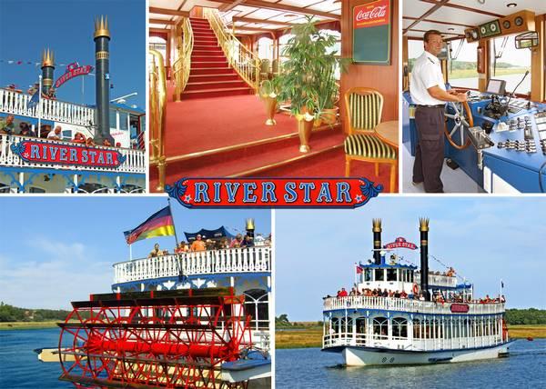 Fahrgastschiff River Star