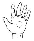 6. c) Handmassage: Lymphzonen behandeln