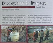 Übersetzung der Eiswein-Reportage ins Norwegische