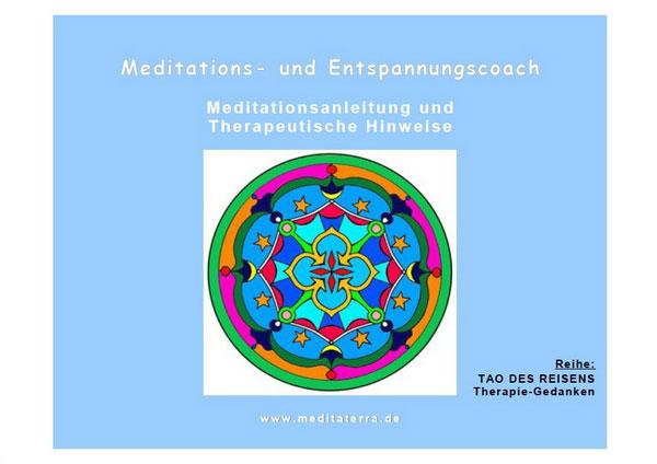Meditations- und Entspannungscoach Titelblatt Cover E-Book