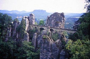 Sächsische Schweiz: Basteibrücke