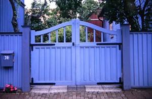 Blaues Gartentor Schweden