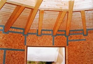 Holzbau Runddecke