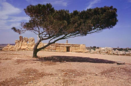 Hagar-Qim-Tempel - Insel Malta