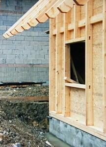 Ständerbauweise: Holzhaus