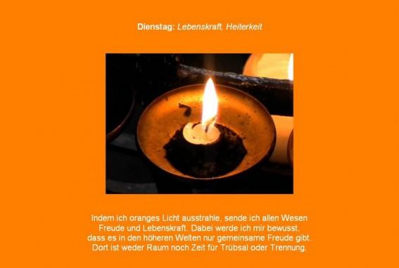 Dienstagsmeditation und Friedensmeditation