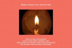 Friedensmeditation Farbmeditation Farbtherapie rot Kerzenmeditation Kerze Montag Frieden Kerzenlicht Gebet Fürbitte für den Frieden Harmonie auf Erden Heilung