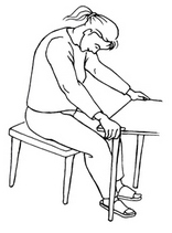 Entspannungsübung im Büro Schultergymnastik Nackenentspannung