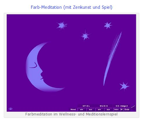 Meditationslernspiel ZEN Farbmeditation