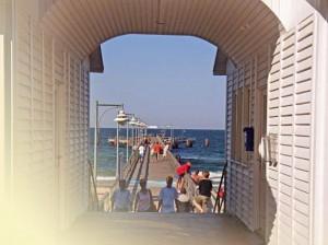 Göhren Seebrücke Bäderstil