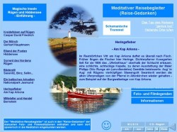 Reise-Gedanken im Wellness- und Meditationslernspiel