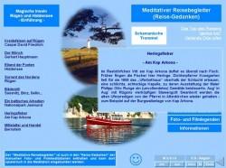 Meditativer Reisebegleiter - CD Seite aus dem interaktiven Meditations- und Lernspiel