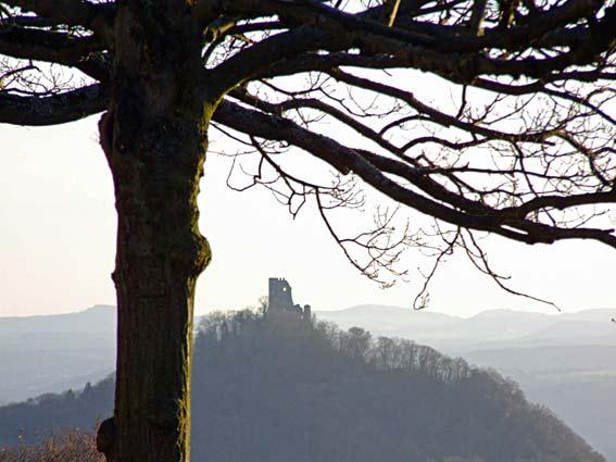 Dachfels - Blick vom Petersberg im Siebengebirge