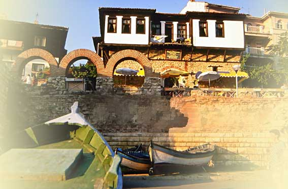alter Hafen in Nessebar