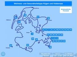Landkarte Wellness-Tipps