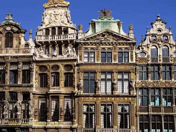 Brüssel Zunfthäuser am Grand' Place