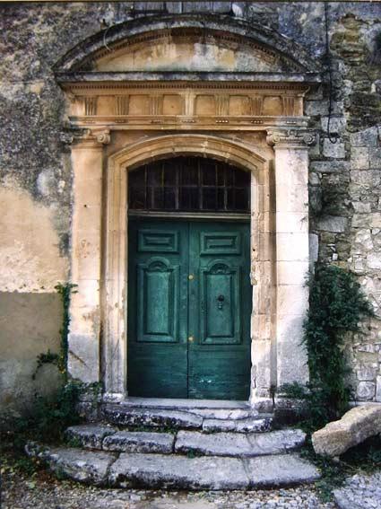 Luberon-Dorf Ménerbes: Haus von Dora Maar (Hauseingang)