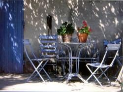 Provence-Haus: Terrasse