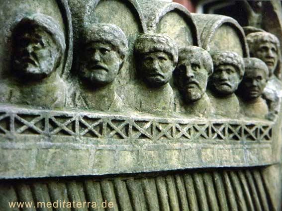 Weinschiff aus der Roemerzeit an der Mosel