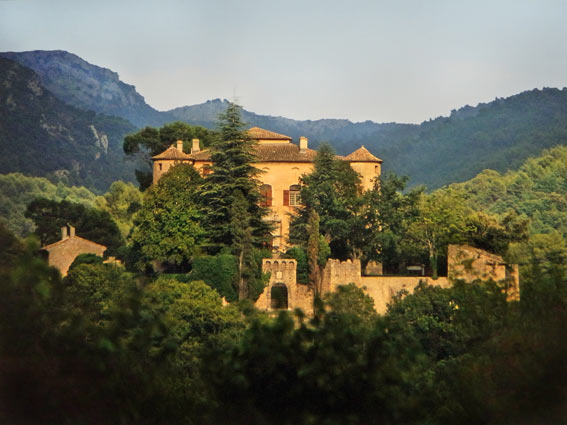 Provence Schloss Vauvenargues Grabstätte von Pablo Picasso