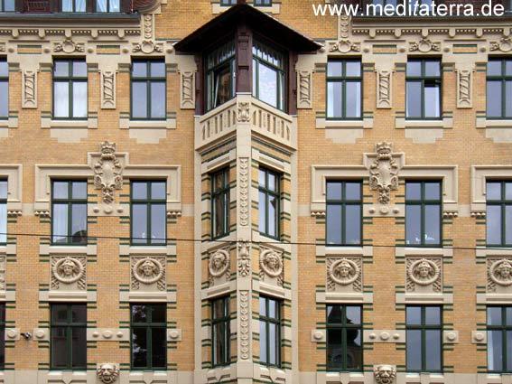 Leipzig Gohlis Jugenstilfassaden