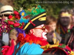 Karneval in Bad Honnef am Rhein, Jecke mit Blütenhut