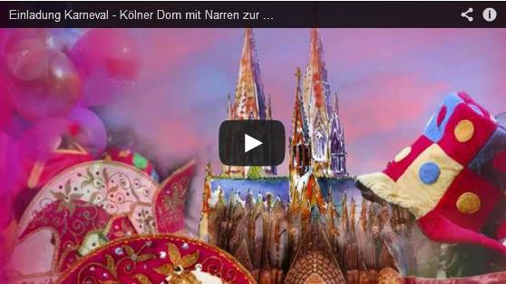video karnevalseinladung kölner dom