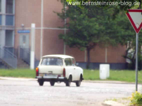 Trabant aus DDR-Zeiten in Leipzig