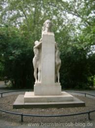 Schillerdenkmal im Schillerpark am südlichen Ende der Leipziger City