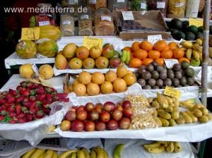 Marktfrüchte aus dem Süden