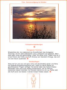 Geschenkbuch zum kostenlosen Downloaden mit Entspannungsübungen, Fotos und Haikus