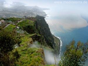 Steilküste Gabo Grao - Ausblickspunkt auf Madeira