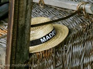 Korbschlittenfahrer - Strohhut Madeira