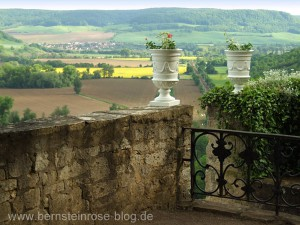 Panoramablick von den Dornburger Schlössern