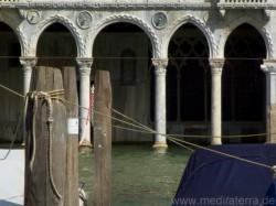 Casa d'Oro: Wassergeschoss mit Arkadenbögen - Venedig Canal Grande
