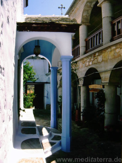 Klosterhof Griechenland