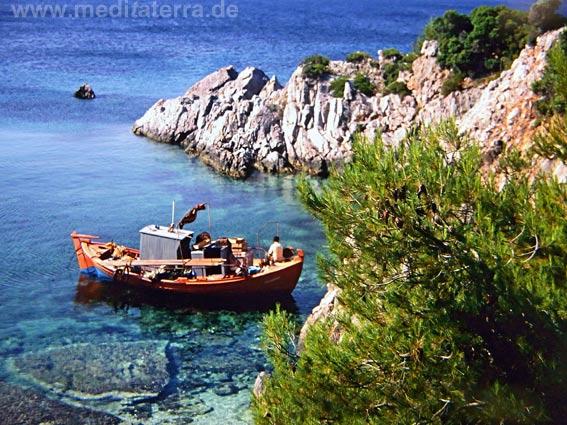 Fischerboot - Nördliche Sporadeninseln Griechenland
