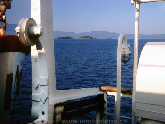 Griechenland, nördliche Sporadeninseln, Schiff
