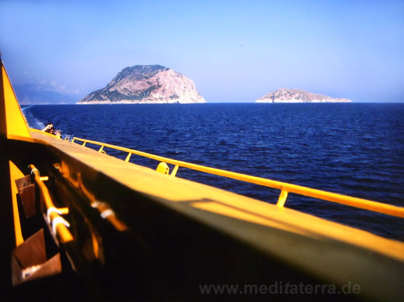 Eilande bei der Sporadeninsel Alonissos