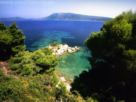 Insel Alonissos - Griechenland, Blick zu den umliegenden Inseln