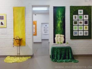 Faszination weltweiter Kunst, Farbe und Meditation im Kulturbunker Köln