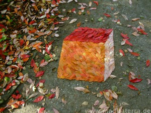Herbstlaubbild - Landart - Kunst