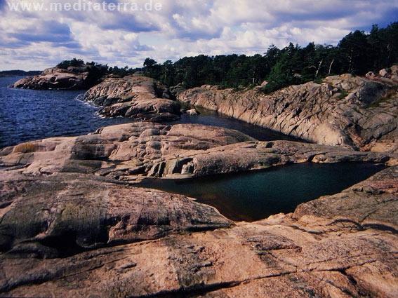 Felsenküste Norwegen - Südküste