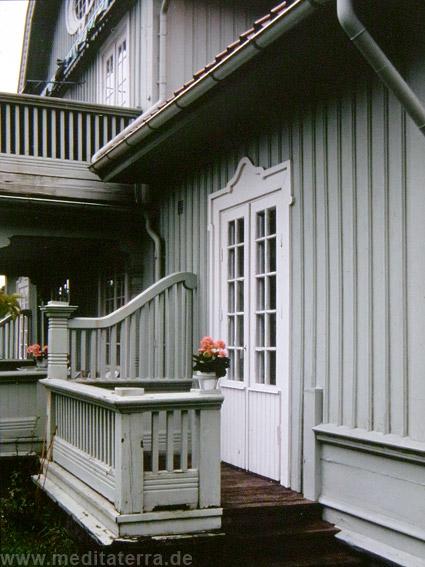Holzarchitektur in den drei schwedischen Holzstädtchen