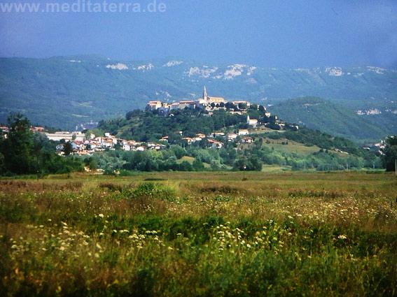 Motovun in der sog. Istrischen Toskana