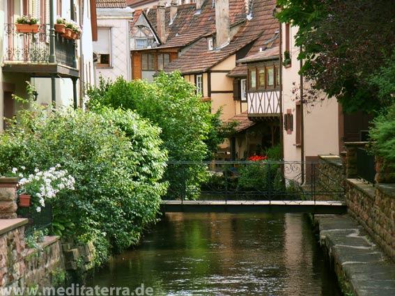 Kleinstadt im Elsass